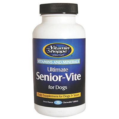 The Vitamin Shoppe Ultimate SeniorVite For Dogs 75 Ct.