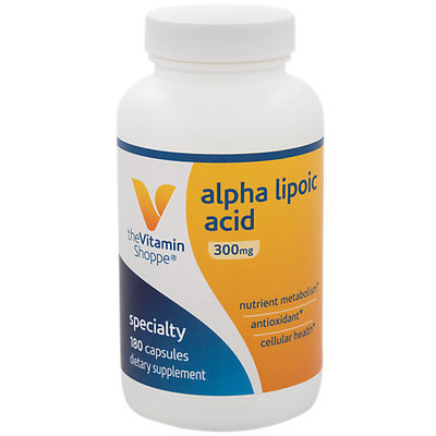 The Vitamin Shoppe Alpha Lipoic Acid