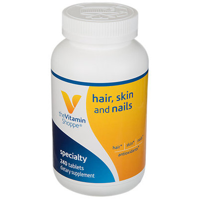 The Vitamin Shoppe Hair, Skin And Nails