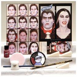 Graftobian Vampire Theatrical Makeup Kit- White