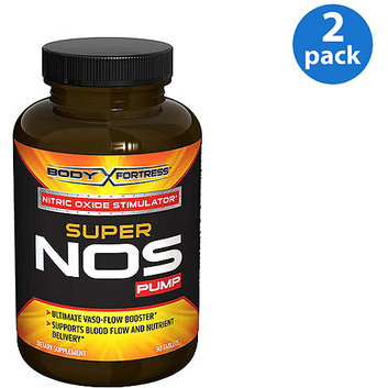 Body Fortress Super Nos Pump Nitric Oxide Bundle 90ct