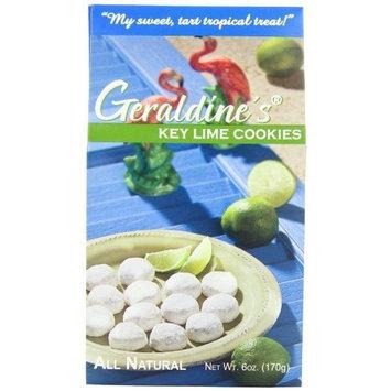 Geraldine?s Geraldine's Cookies, Key Lime, 6 Ounce