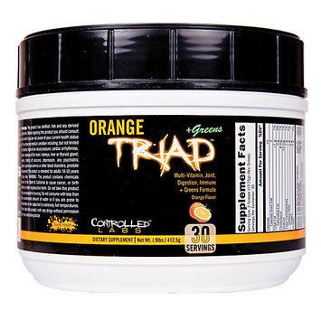 Controlled Labs Orange Triad + Greens 30 svg
