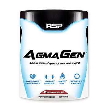 Rsp Nutrition AgmaGen Pomegranate by RSP 100% Pure AGMAX Agmatine Sulfate Muscle Recovery (50 Servings)