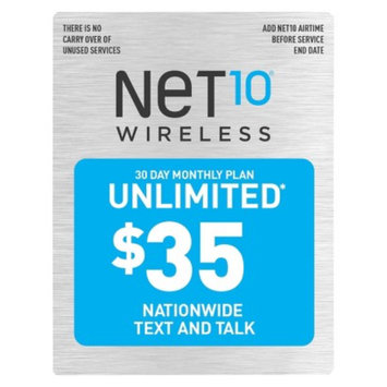 NET10 Net10 30 Day Monthly Plan - $35 UNLIMITED Talk/Text Pre-Paid Cell