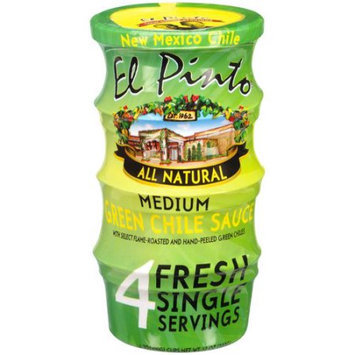 Generic El Pinto Medium Green Chili Single Serve Salsa, 3 oz, 4 ct