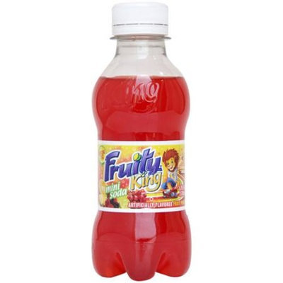 Generic Fruity King Fruit Punch Mini Soda, 5.75 fl oz