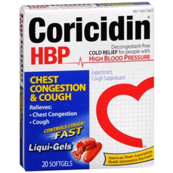Coricidin HBP Chest Congestion & Cough