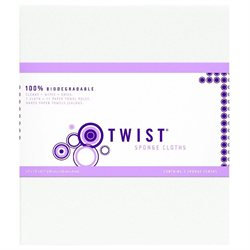 Twist Euro Sponge Cloth #20 - 3 Sheets