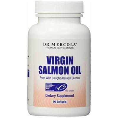 Mercola'a Fish Oil 100% Virgin Salmon Oil 90 Softgels
