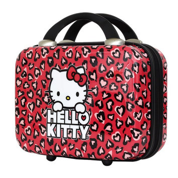 FAB New York Hello Kitty Hearts Cosmetic Case (Red)
