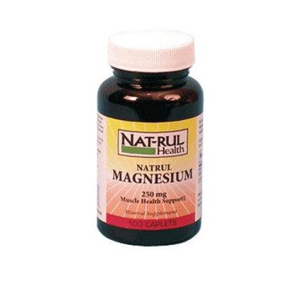 Natrul Health Magnesium 250 Mg Caplets - 100 Ea