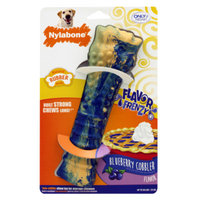 Nylabone Flavor Frenzy Blueberry Cobbler Dog Toy