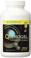 Tishcon Corp Quinogel Hydrosoluble Ubiquinol CoQ10 100mg 180ct.