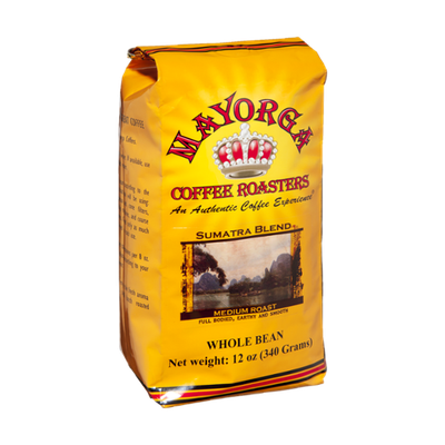 Mayorga Coffee Roasters Sumatra Blend Medium Roast Whole Bean Coffee