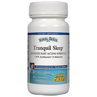 Tranquil Sleep Travel Size Natural Factors 10 Tabs