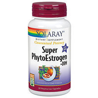 Solaray - Guaranteed Potency Super PhytoEstrogen DIM - 30 Vegetarian Capsules