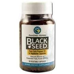 Amazing Herbs Black Seed Oil - 90 Softgel Capsules