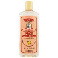 Thayer,henry Thayers Peach Witch Hazel Astringent with Aloe Vera