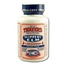Thayers Slippery Elm Lozenges Cherry - 100 Lozenges - Vegan