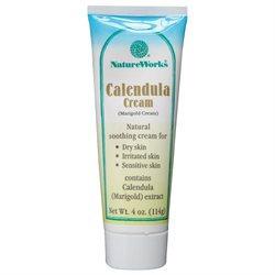 NatureWorks - Calendula Cream Marigold Cream - 4 oz.