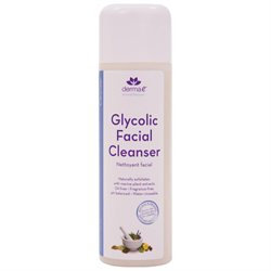 derma e Glycolic Facial Cleanser with Marine Plant Extracts
