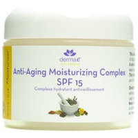 Frontier Natural Products Co-op 218710 Derma E Facial Moisturizer Anti-Aging Moisturizing Complex SPF 15 2 oz.