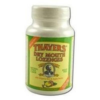 Frontier Thayers Dry Mouth Lozenges Citrus Flavored 100 count 208603