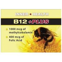 B12 + Plus Patch 8 Ct by Inner Health (1 Each)