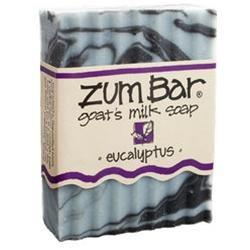 Indigo Wild: Zum Bar Goat's Milk Soap, Eucalyptus 3 oz