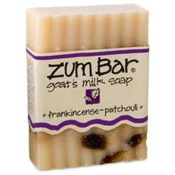 Indigo Wild: Zum Bar Goat's Milk Soap, Frankincense & Patchouli 3 oz