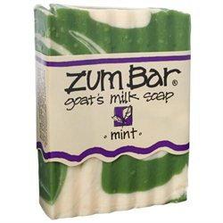 Indigo Wild: Zum Bar Goat's Milk Soap, Mint 3 oz