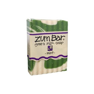 Indigo Wild: Zum Bar Goat's Milk Soap, Mint 3 oz