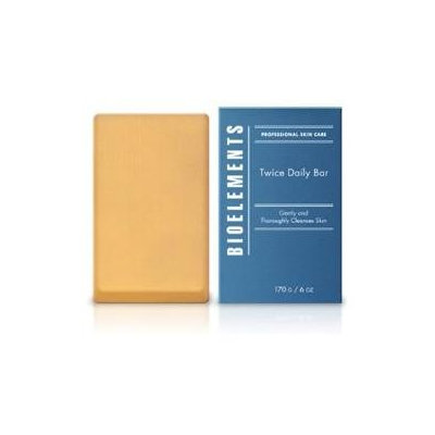 BioElements Twice Daily Bar with professional sponge 6oz