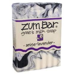 Indigo Wild: Zum Bar Goat's Milk Soap, Anise & Lavender 3 oz