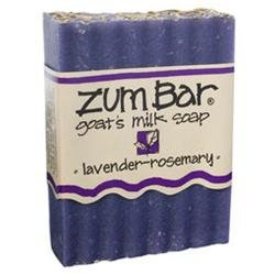 Indigo Wild: Zum Bar Goat's Milk Soap, Lavender & Rosemary 3 oz