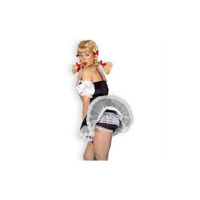 Forum Novelties Inc Forum Novelties 134105 Lace Panties Black And White Adult
