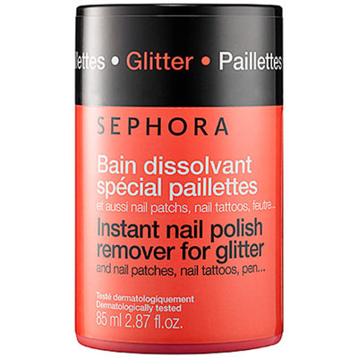 SEPHORA COLLECTION Instant Nail Polish Remover For Glitter
