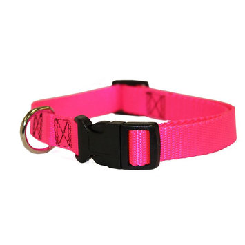 Majestic Pet Products, Inc. Majestic Pet Products Pink 8in - 12in Adjustable Collar