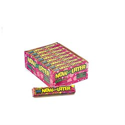 Farley's & Sathers Candy Company Now and Later Classic Candy 24 Pack Box