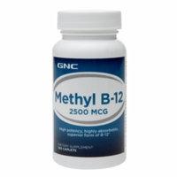 GNC Methyl Vitamin B-12 2500mcg, Tablets, 100 ea