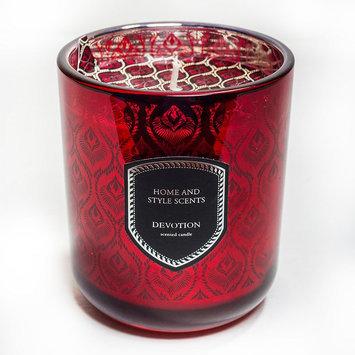 Home Essentials & Beyond Inc Home Essentials 13.4-oz. Devotion Jar Candle (Red)