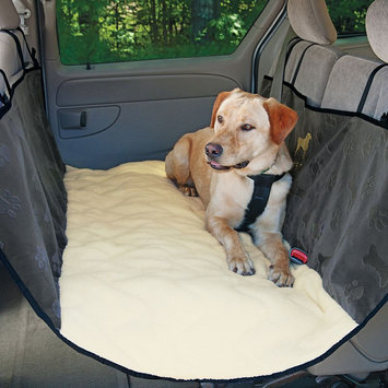 Doctors Foster & Smith Quilted Hammock Back Seat Cover (Grey)