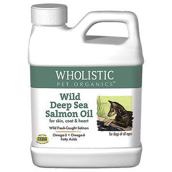 Wholistic Pet Wild Deep Sea Salmon Oil 8 Oz.