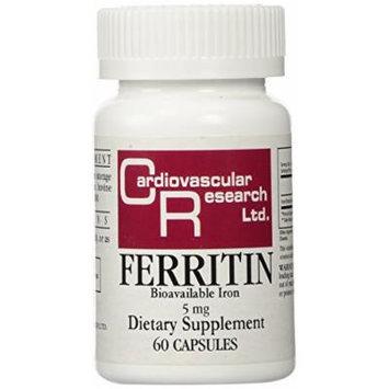 Ferritin Bioavailable Iron 5 mg 60 Caps