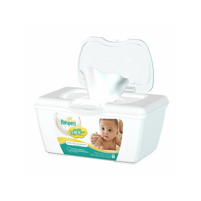 Pampers Sensitive ThickCare Wipes