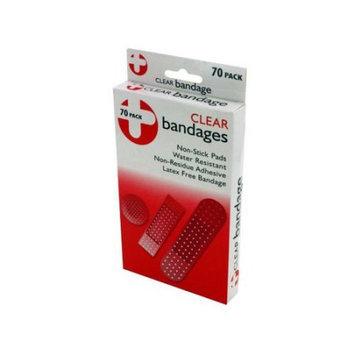 Bulk Buys Clear bandage pack Case Of 12