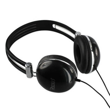 Reiko Wireless STEREO EARPHONEIPHONE/IPOD 3.5mm WITH MIC BLACK