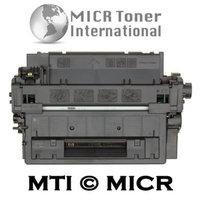 MICR Toner International MTI MICR Compatible HP CE255X (55X) MICR Toner Cartridge for HP LaserJet P3010, P3015, P3015d, P3015dn, P3015n, P3015x, P3016, M521dn, MFP M521dw, MFP M525c, MFP M525dn, MFP M525f