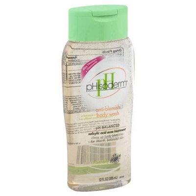 pHisoderm Body Wash, Anti-Blemish, 12 oz.